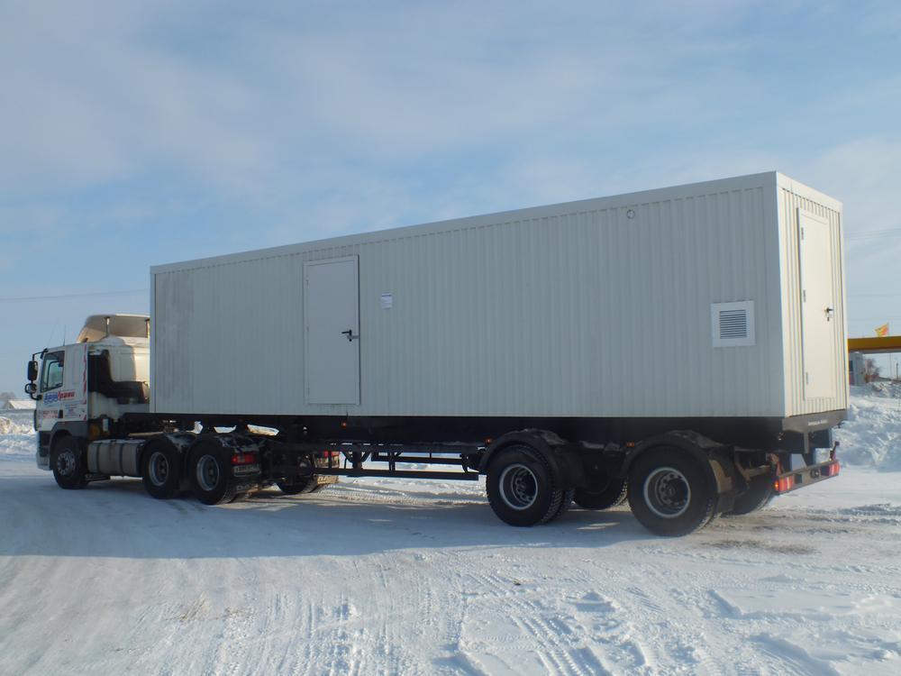 Транспортабельная котельная установка мощностью 2000 кВт